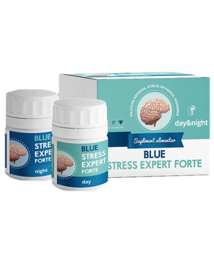 STRESS EXPERT 24 Day&Night - supliment antistress 100% natural, Blue Diamond