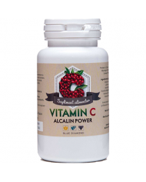 Vitamina C Alcalin Power - Vitamina C din ascorbat de calciu, maces si acerola, Blue Diamond